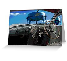 Lincoln-Zephyr Greeting Card