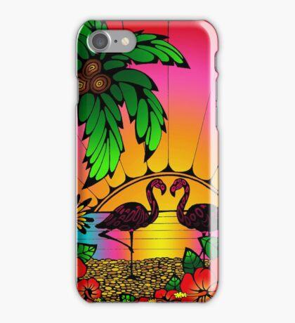 Flamingo Love  iPhone Case/Skin