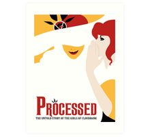 Processed - A Transistor & Wicked Mash Up Art Print