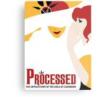 Processed - A Transistor & Wicked Mash Up Metal Print
