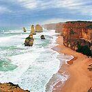 Twelve Apostles, Great Ocean Road, Victoria,Australia by Adrian Paul
