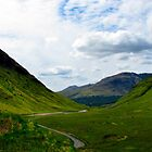 Glen Etive by Fe Messenger