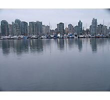 Masts, Vancouver, Canada, 2007 Photographic Print