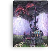 Dragon Castle Canvas Print