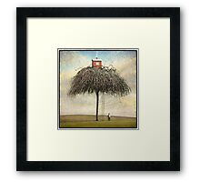 Tree House Framed Print