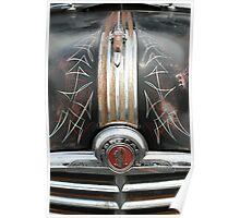 Pinstripe Pontiac Poster