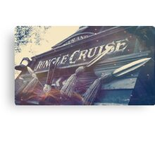 Adventure Jungle Canvas Print