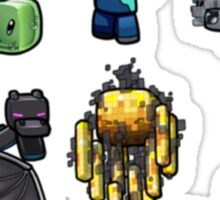 Minecraft Characters Sticker