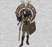 Scythian Nouveau Mens V-Neck T-Shirt