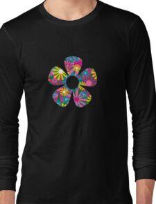 Funky Flower Long Sleeve T-Shirt