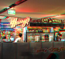3D Image Of Harry's Cafe De Wheels Sydney Australia by Raoul Isidro