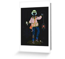 Witch Series: Voodoo Doll Greeting Card