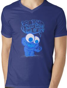 C is for cookie and cookie is for me! Mens V-Neck T-Shirt