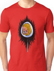 A beastie, in a feather. Unisex T-Shirt