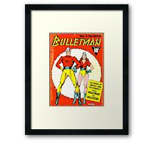 Bulletman and Bulletgirl Framed Print