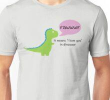 Dinosaur Love Unisex T-Shirt