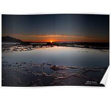 Sunrise at Coalcliff Poster