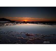 Sunrise at Coalcliff Photographic Print