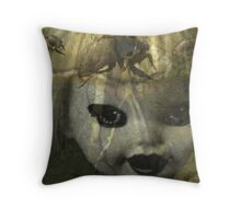 The Lingering Scent of Decay Throw Pillow