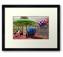 Discovering the Blue Planet Framed Print