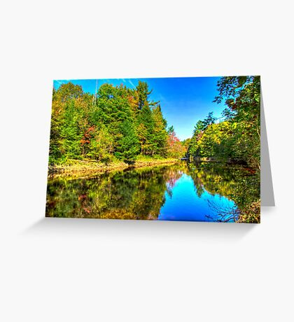 Tranquil River Greeting Card
