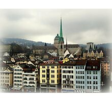 I Love Zurich! Photographic Print