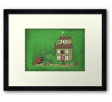 A home to rent Framed Print