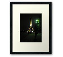 Beauty in the Dark Night Framed Print