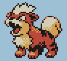 Pokemon - Growlithe Baby Tee