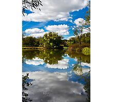 Paradise Reflection Landscape Photographic Print
