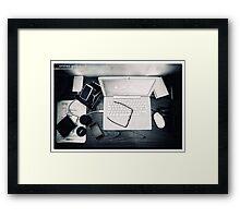 Workplace Framed Print