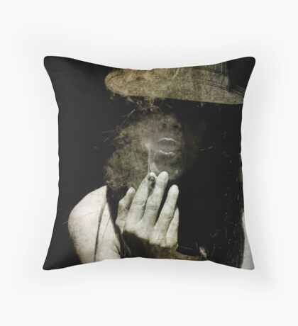 Up In Smoke: Throw Pillow