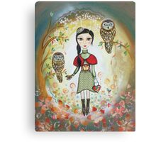 Woodland friends Canvas Print