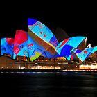 Sydney Opera House - Vivid 2010 by Bill Fonseca