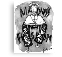 Justin Law Madness Fusion Canvas Print