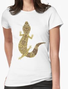 Leopard Gecko Womens Fitted T-Shirt