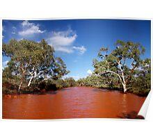 Pilbara Creek Poster
