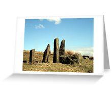 """Stone Circle"" Greeting Card"