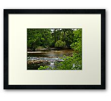 A View Of The River Ness In Scotland. Framed Print