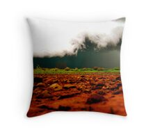 Cheeky Storm. Throw Pillow