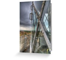 The Old Lighthouse Lantern Greeting Card