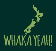 Whaka YEAH! OH YEAH Kiwi New Zealand funny by jazzydevil