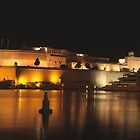 Fort Sant Angelo, Malta. by RAY AGIUS
