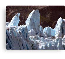 Glacial upheavals Canvas Print