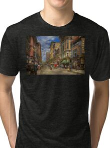City - Providence RI - Living in the city 1906 Tri-blend T-Shirt