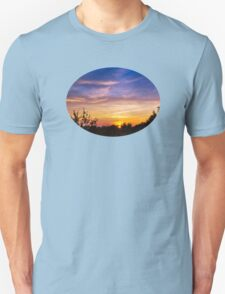 Sunset Landscape Art T-Shirt