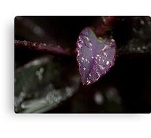 The Purple Rain Goddess - Part 2 of 3 Canvas Print