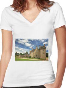 Drum Castle Women's Fitted V-Neck T-Shirt