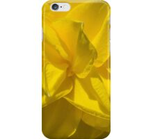 Sunny Yellow Spring - a Golden Double Daffodil iPhone Case/Skin