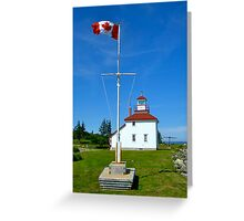 Gilbert's Cove Lighthouse Greeting Card